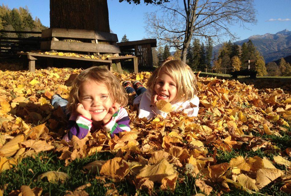 Herbstferien Steiermark Bauernhof Urlaub Familie