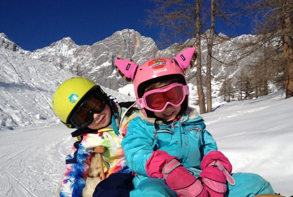 Winterurlaub für die ganze Familie. Rodeln Brandalm