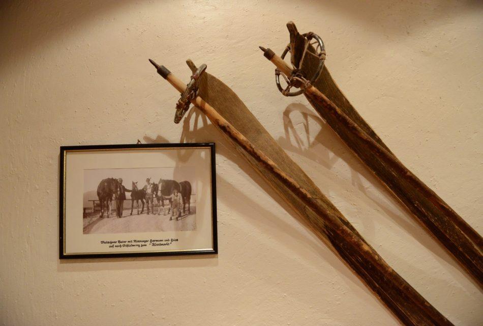 Geschichte Bauernhof Ramsau Skigeschichte