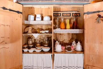 Bauernfrühstück Buffet Appartement mit Frühstück