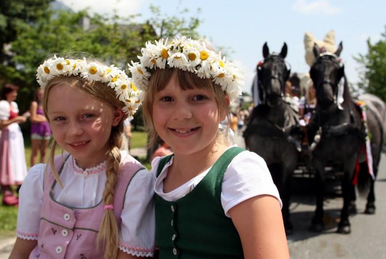 Frühlingsfest Pferde Ramsau Dachstein