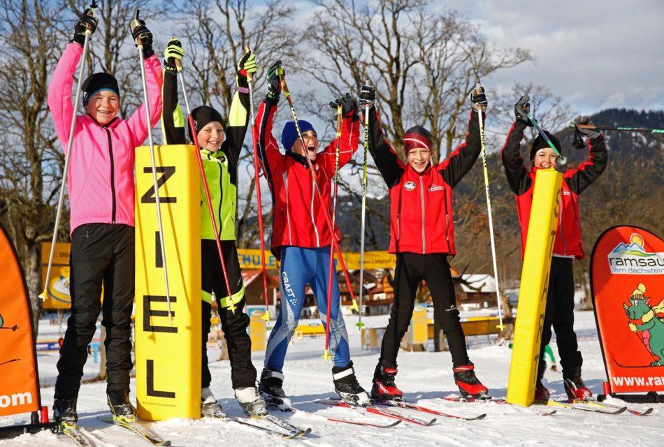 Erster Kinderlanglaufpark der Alpen Ramsbergerhof Ramsau am Dachstein