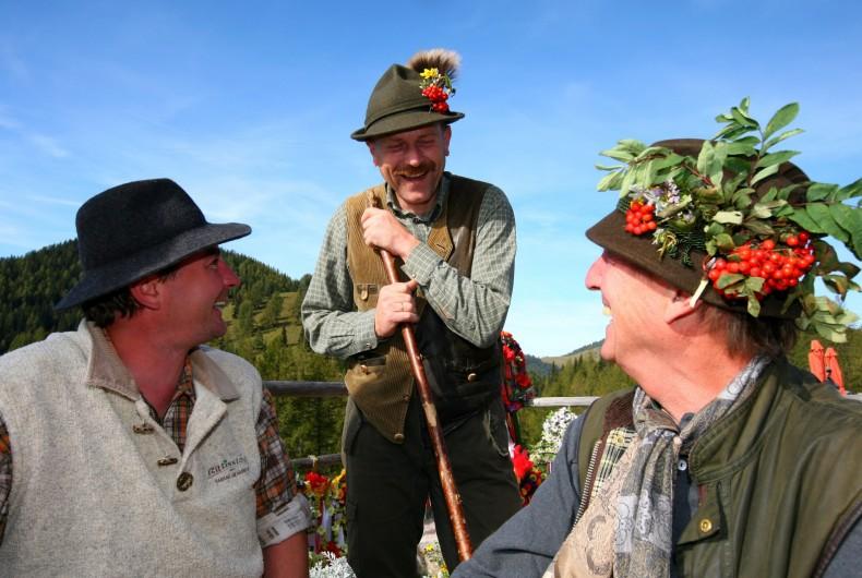 Tradition Brauchtum im Urlaub Ramsau Dachstein Ramsbergerhof