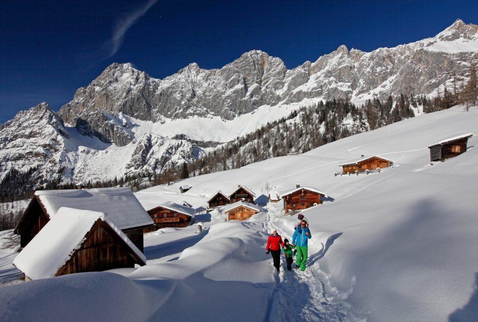 Winterwandern in Ramsau am Dachstein Urlaub am Bauernhof
