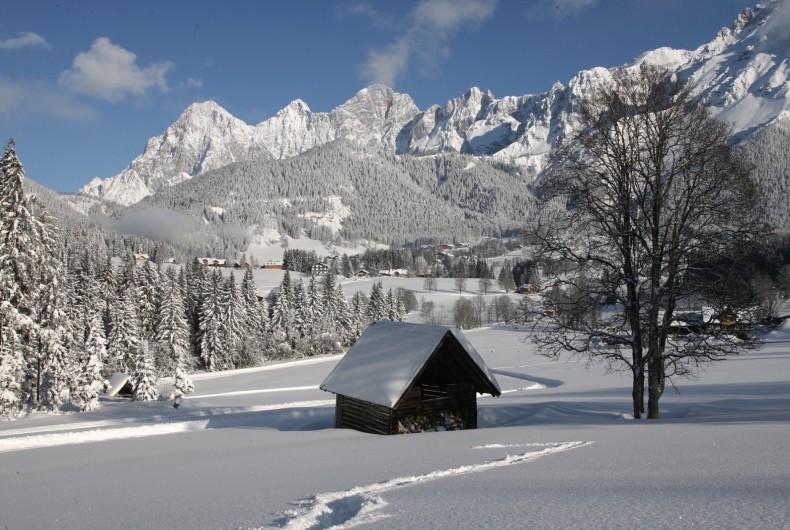 Winterlandschaft Winterwonderland Ramsau am Dachstein