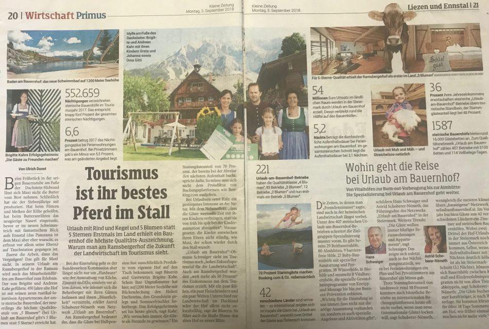 Ramsbergerhof Urlaub am Bauernhof 5 Sterne